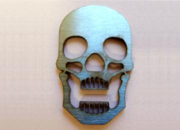 Small Metal Skull